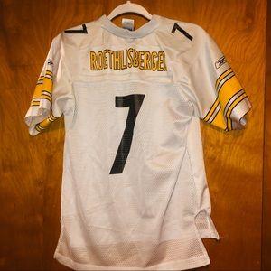 kids Pittsburgh Steelers Roethlisberger jersey L